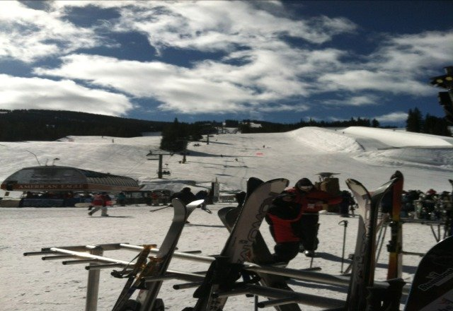 great day at copper. mostly pow with some icy spots. got really windy by the end of the day