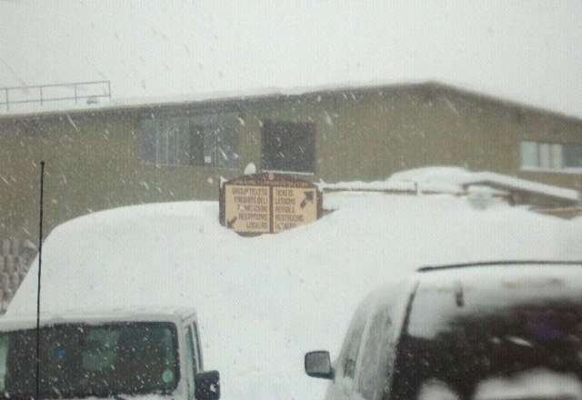 Epic snow fall at monarch!