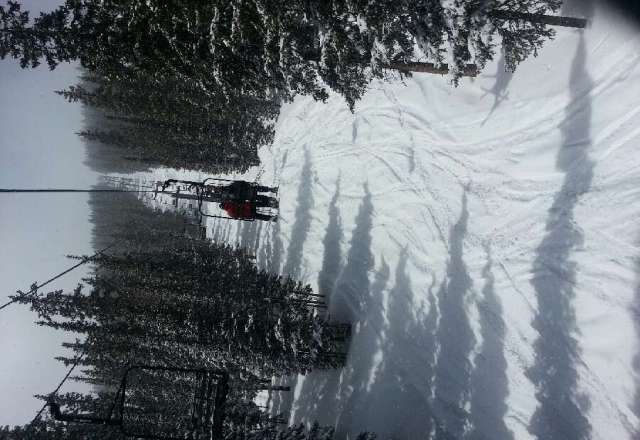 what a great ending to the season!  late season storms. had a fantastic powder Wednesday!  Love Monarch!