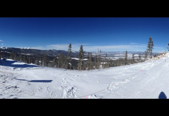 Top of eskimo lift. Beautiful day