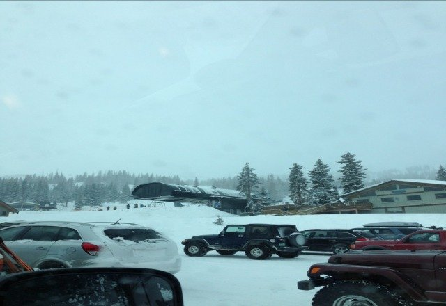 Snow conditions are totally awesome & mtn has been empty. Weather is ridicously cold, -18 is harsh!