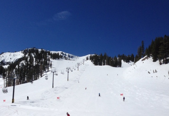 Great uncrowded spring conditions.