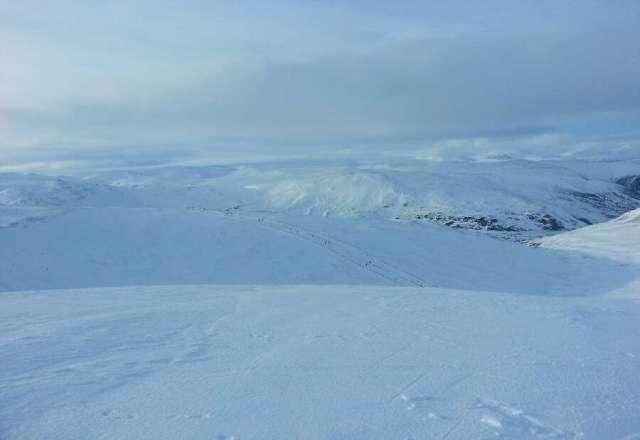 Amazing powder snow off piste