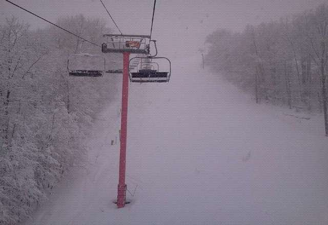 Only the best day ever.. five inches of powder and perfectly groomed runs