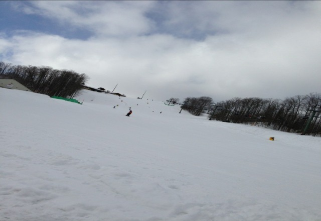 here right now. nice powder!  awesome day!