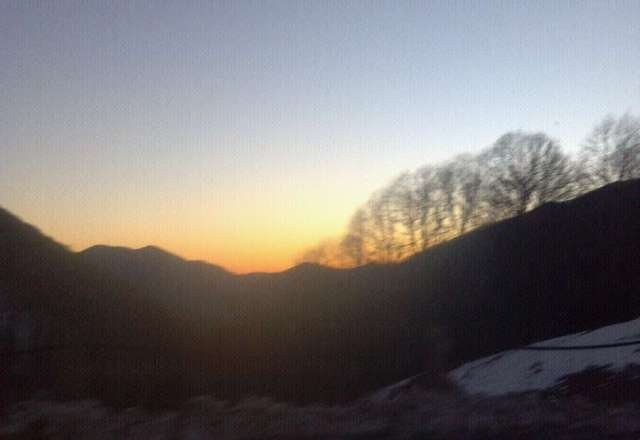 Seriously love me some Cataloochee sunset