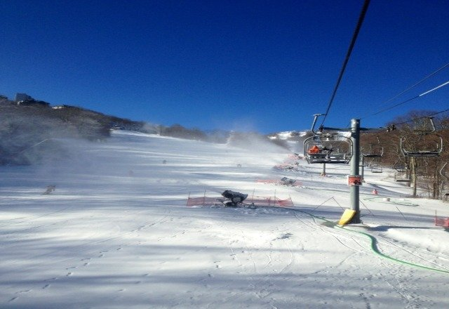 Great conditions on Monday Jan. 7th. Worth the trip.