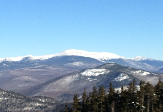 bluebird day after an amazing Fri and Sat, knee deep powder and no lines...