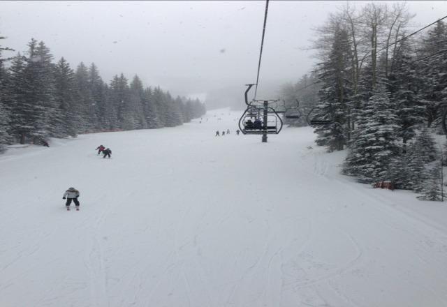 Sat was awesome!!!!!  Plenty of fresh snow!