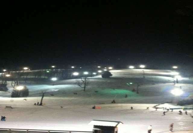 Not bad conditions it got a little icey as the night went on and definately buy the Super 7 Pass its great.