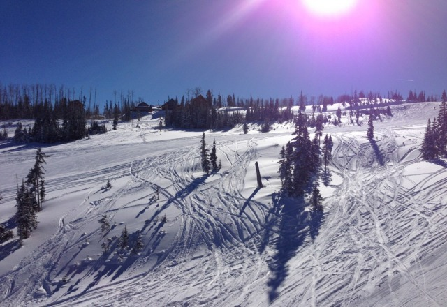 Beautiful day, sunny and warm, no lines, can't ask for more!Happy New Year!