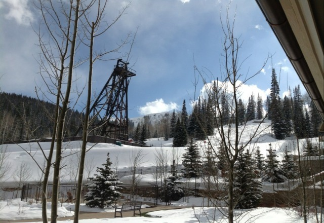 snow in the morning, sunshine in the afternoon- best spots are in the trees and chutes off of empire- epic day