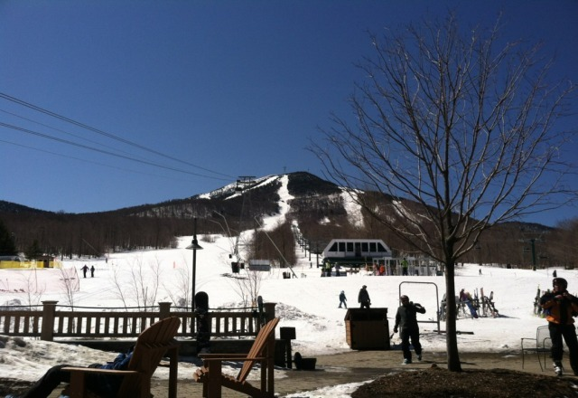 Great snow...beautiful blue bird spring skiing day! Looking forward to the next 2!