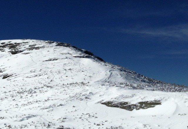 the north ridge skiing nice