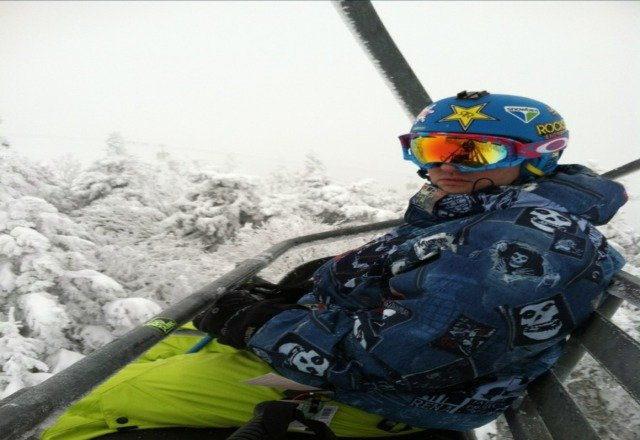 Shredded there on Friday...tree skiing sick..couldnt ask for better conditions great mountain