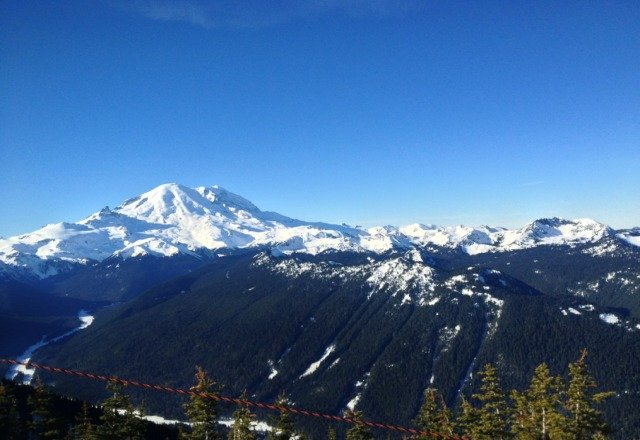 beautiful day on monday though it was so hot it could have passed for spring skiing! hope they get more snow slon