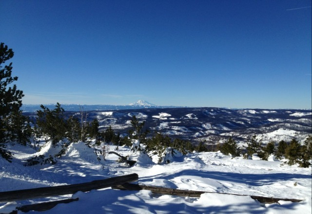 awesome skiing day at mission ridge!