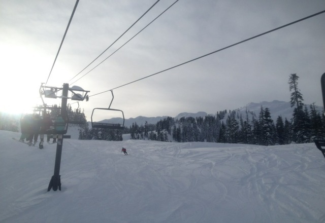 whoever didnt go to baker on Sunday the 23rd & decided to turn around.. you missed out on a great day! lots of fresh powder:)