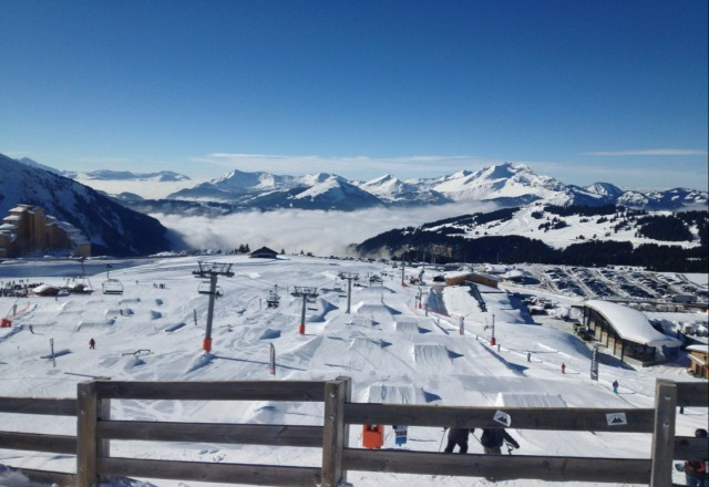 Just leaving Avoriaz after a great week, good conditions all week.