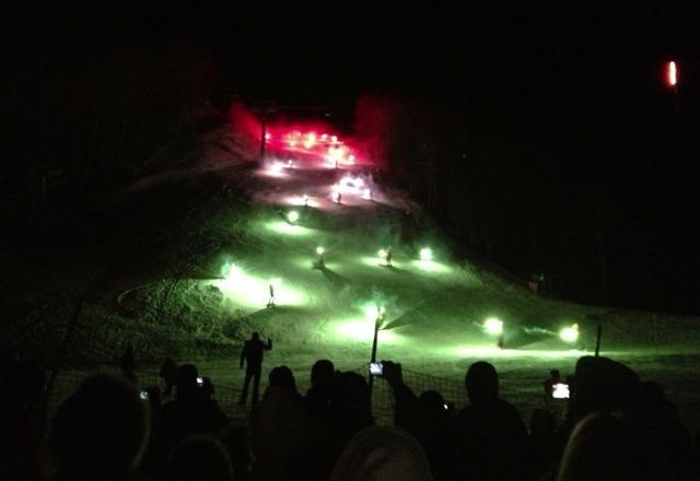 fiaccolata di fine anno dei maestri di sci! Spettacolare!!!!! bravissimi????