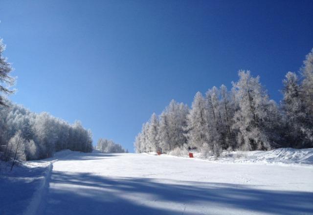 soleil, neige