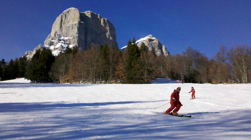 Col de l'Arzelier : a perfect ski resort to discover and learn ski - © © Lydia Bouillot