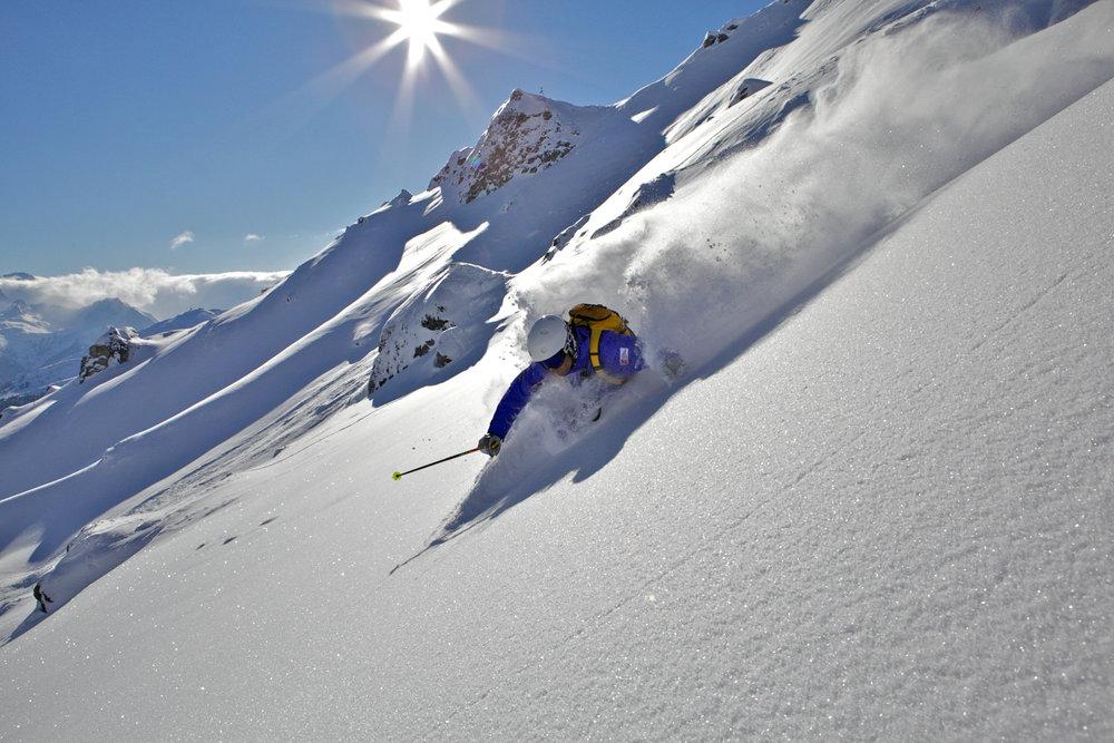 Freeriden im Gasteiner Tal - © Schneesportschule Gastein