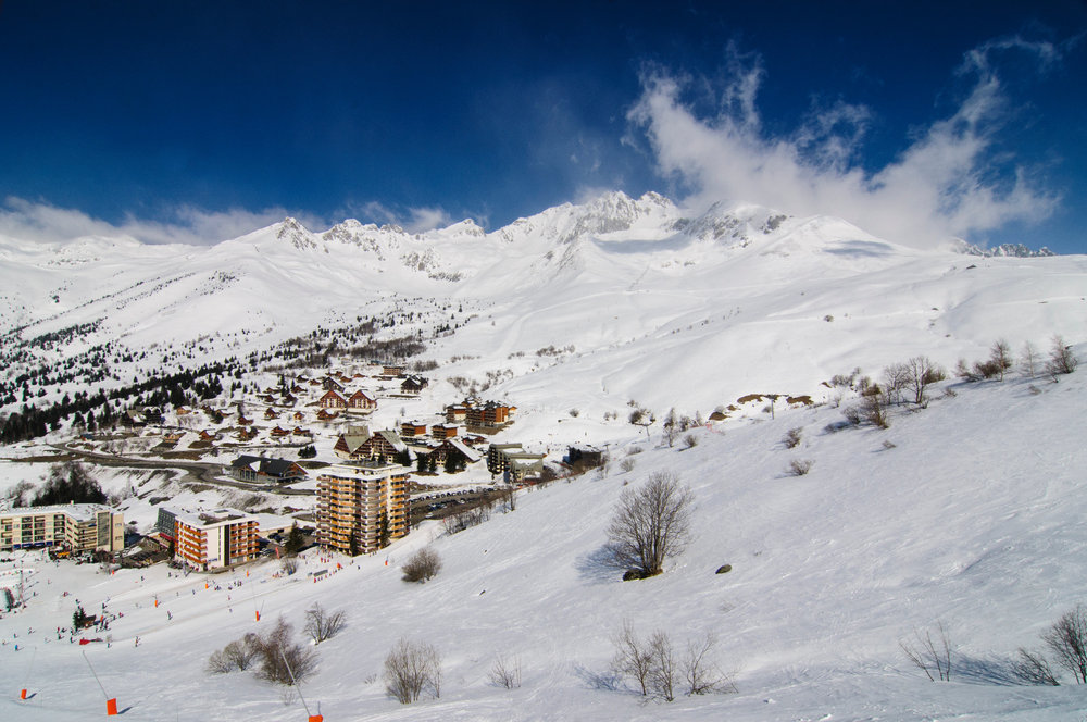 Les pistes de ski de Saint François Longchamp - © Gael JONCOUR
