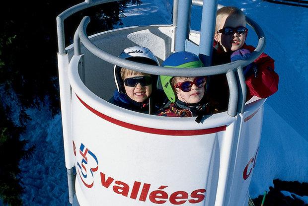 Courchevel, France Gondola