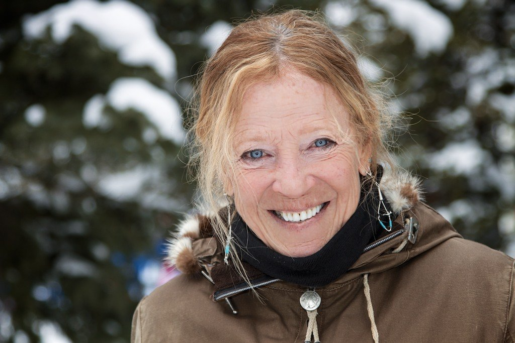 Georgia Dumais: PSIA Level III Alpine and Telemark instructor at Snowbird - © Liam Doran