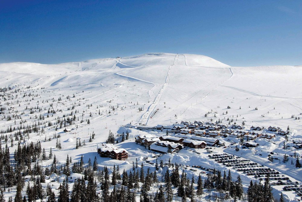 The village of Trysil in Norway. - © Trysil