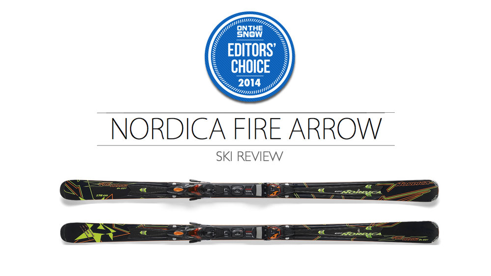 2014 Men Frontside Editor Choice Ski: Nordica Firearrow 84 EDT