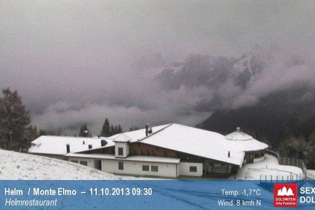 Neve fresca di Ottobre - Alta Pusteria, Alto Adige