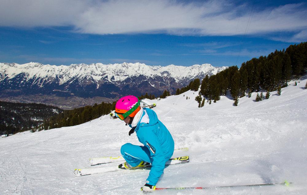 Skifahren Glungezer - © Tourismusverband Region Hall-Wattens
