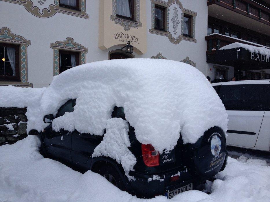 Tidlig sne i Hintertux - © Jeppe Hansen
