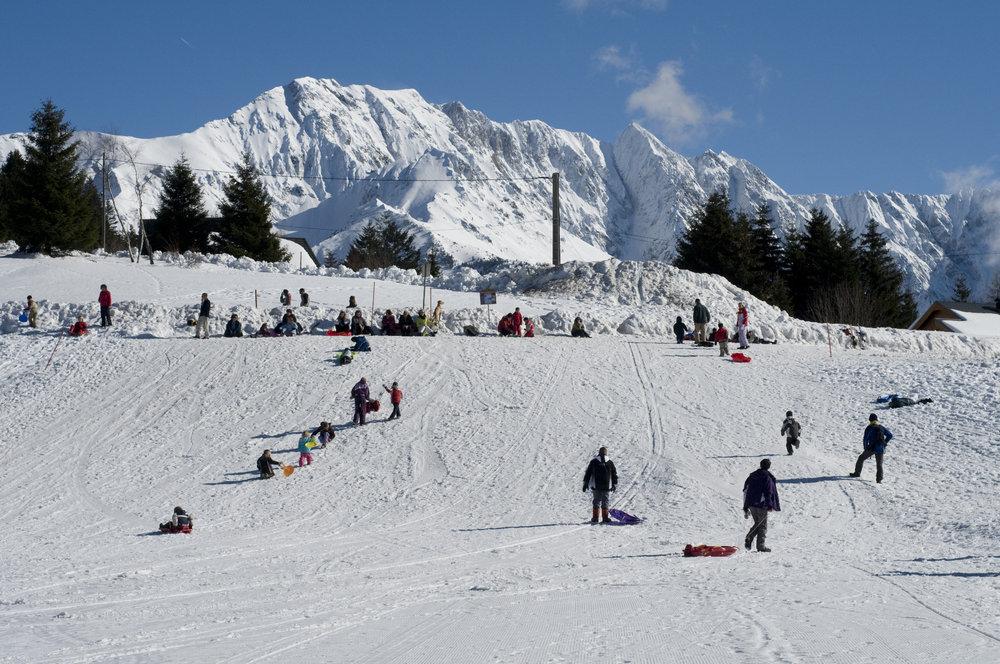 Piste de luge à l'Alpe du Grand Serre - © Christophe STAGNETTO