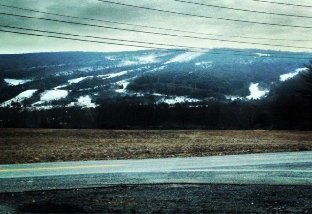 Can wait til it looks like this again. Dying to board my favorite mountain I've been to so so far come on snow!