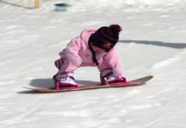 My 4 year olds first steps!!! So happy Snowbowl is the mountain to make it happen!