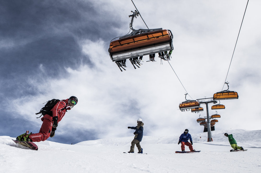 Snowboard Skischule in Silvretta-Montafon - © Tourismusverband Silvretta-Montafon