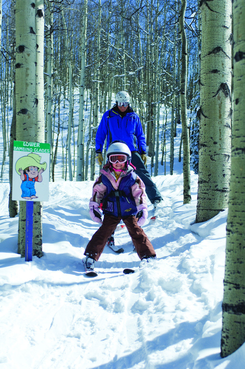 Tree skiing isn't just for the old and wise. A new generation rips through the aspens in Crested Butte. - © Courtesy of Crested Butte Mountain Resort