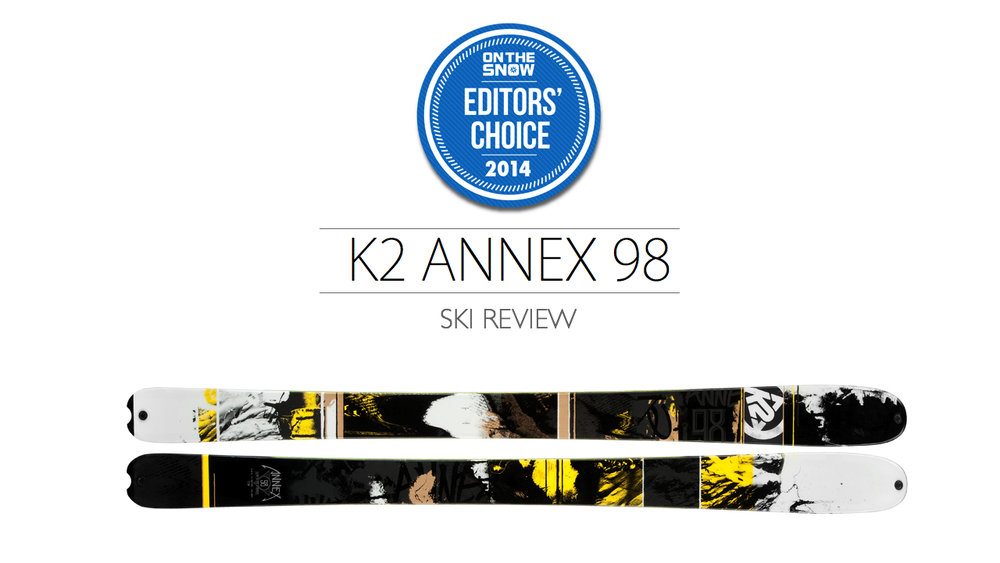 2014 Men's All-Mountain Editors' Choice Ski: K2 Annex 98