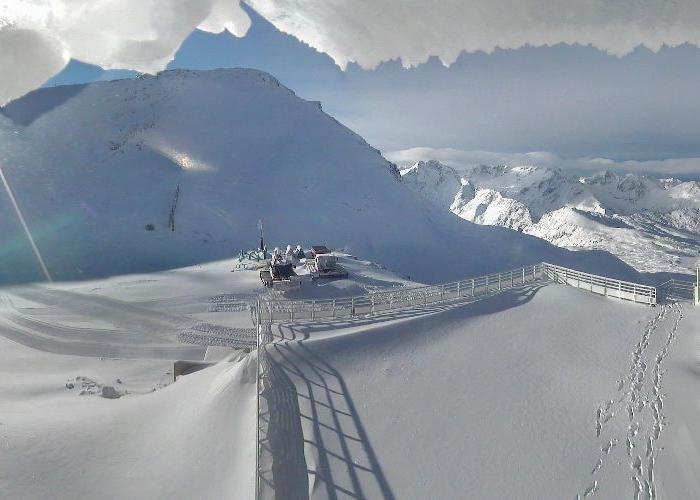 Les 2 Alpes glacier Nov. 5, 2013