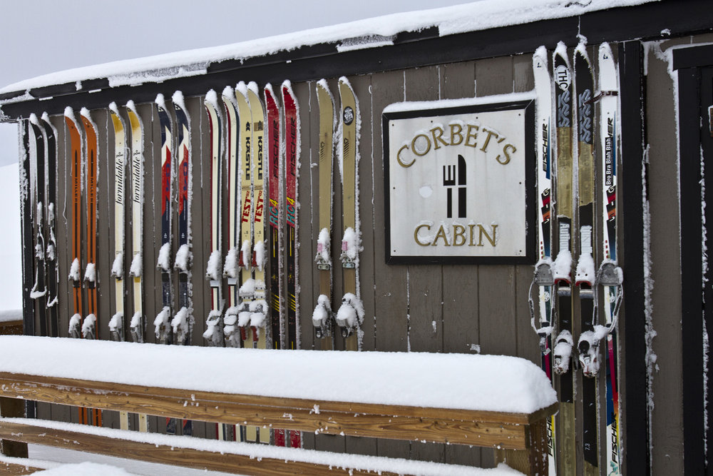 """Snowing outside right now with 14 inches in the last 48 hours putting Jackson Hole at 28"""" total so far this season."""