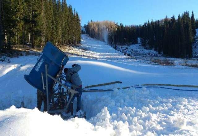 snowmaking!!!