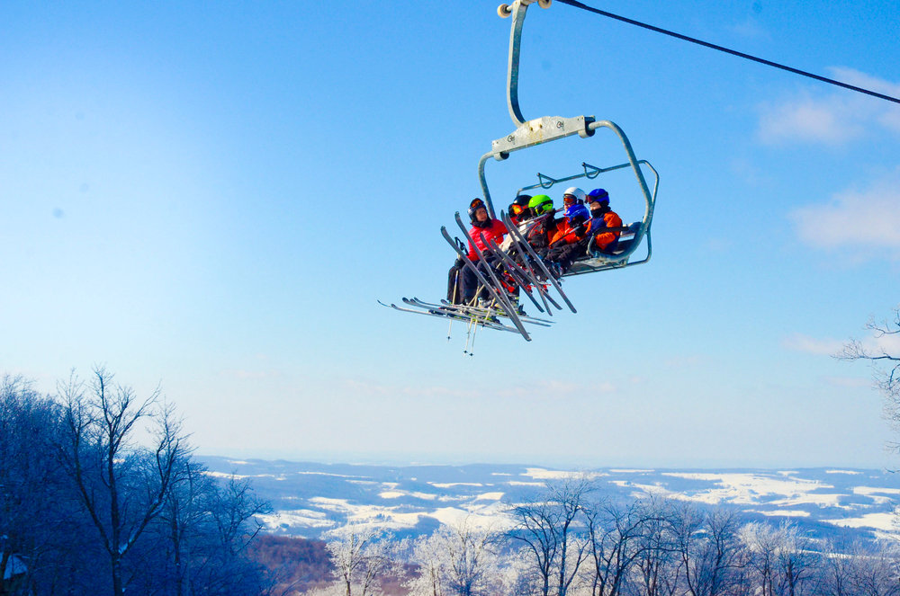 Skiing in Seven Springs - © Seven Springs