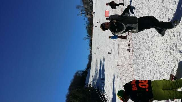 Ok snow on Thanksgiving.  Only 3/4 open and icy or hard in spots.  Not a bad way to spend a day.