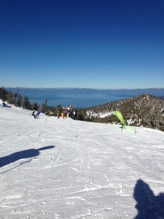 Nice day out not packed and good runs for so little open. Too much money though driving to northstar tomorrow.