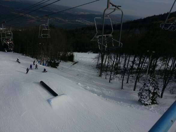 Good day at the mountain this morning can't wait till its all up and running