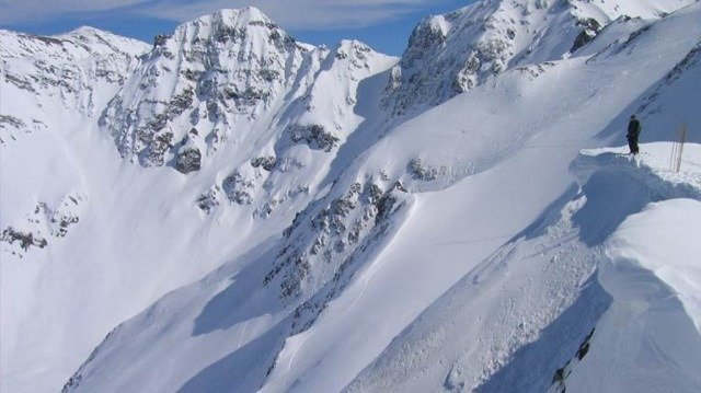 Inbounds skiing, Silverton CO.  Nothing like it.
