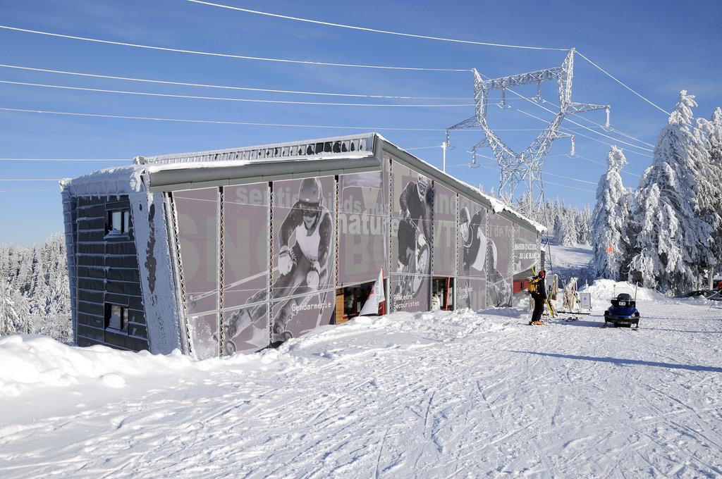 Bâtiment d'accueil du Lac Blanc - © OT Vallée de Kaysersberg